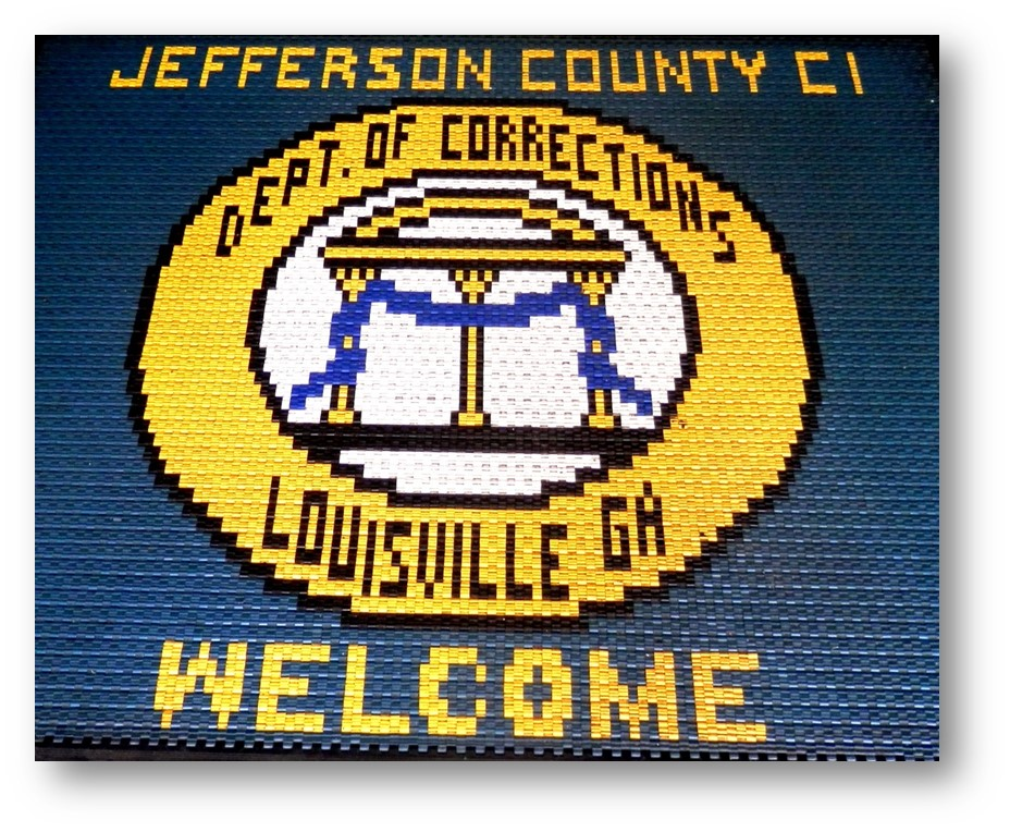 Department of Corrections Welcome Sign